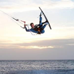 Chris Bobryk pro kitesurf roma
