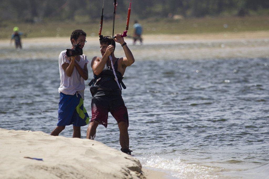 Andre Magarao pro kitesurf roma