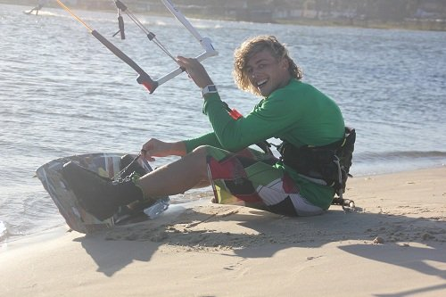 Sander Bos pro kitesurf roma