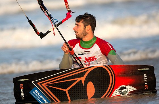alex pastor pro kitesurf roma
