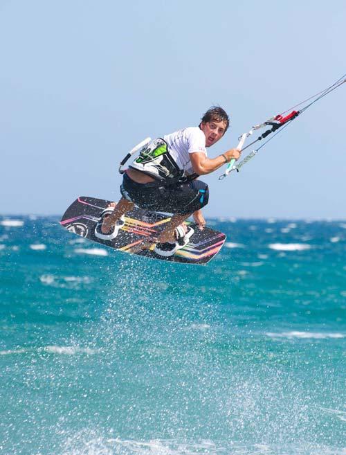 Nico Etienne pro kitesurf roma