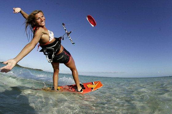 charlotte consorti pro kitesurf roma