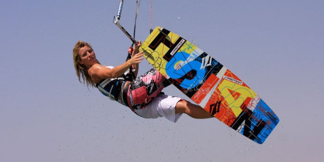 Jo Wilson pro kitesurf roma