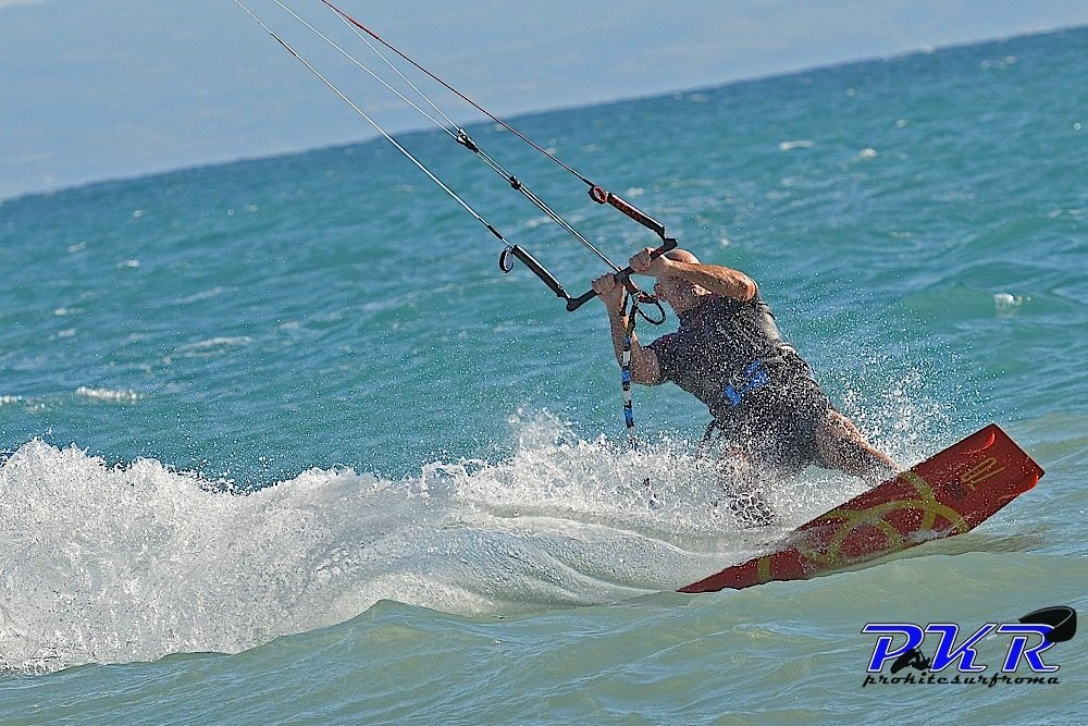 Test prova OSSO 70 twin tip kiteboard08