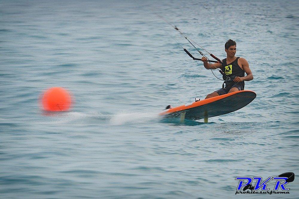 mario calbucci kitesurf race 11