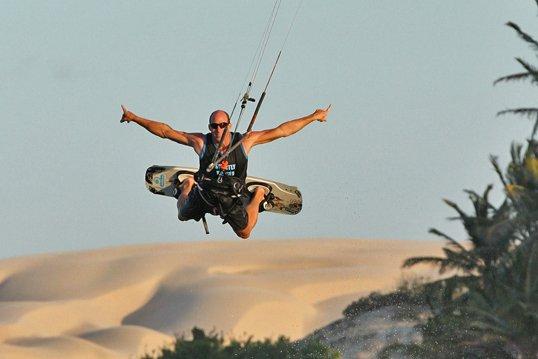 Toby Braeuer pro kitesurf roma