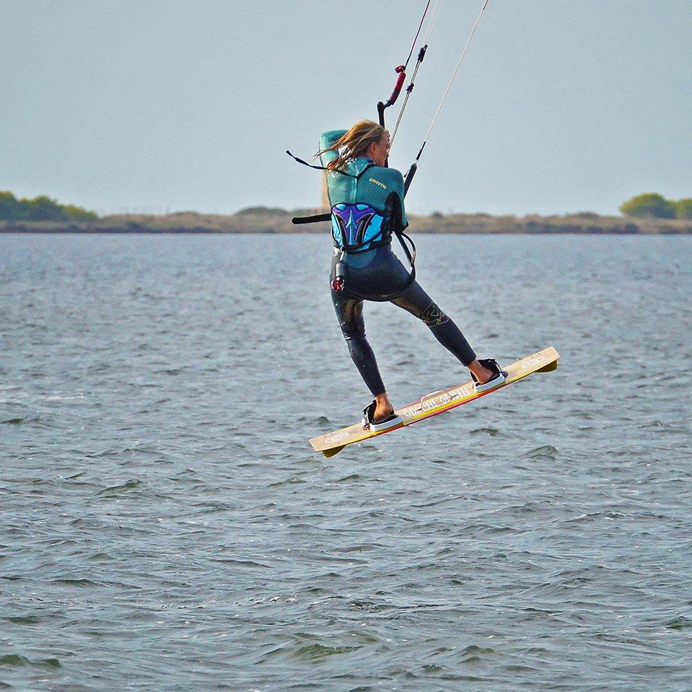 corso avanzato di kitesurf i salti