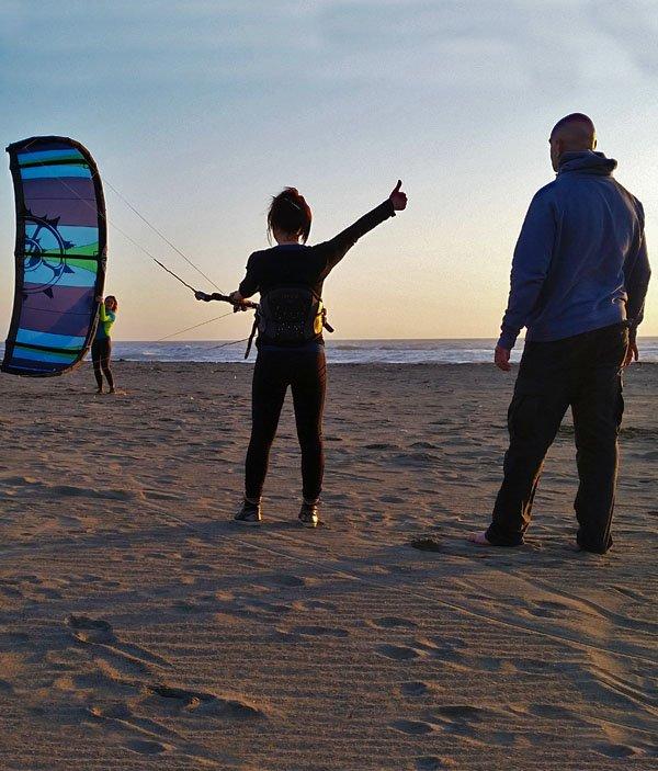Corso kitesurf kiteboard italy italia