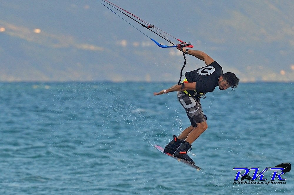 Dario Fidenzi campionato italiano kitesurf