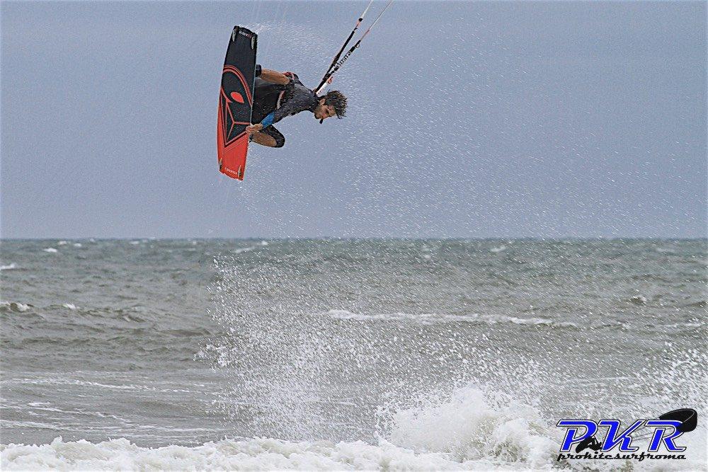 Emanuele Minutello kitesurf roma 02