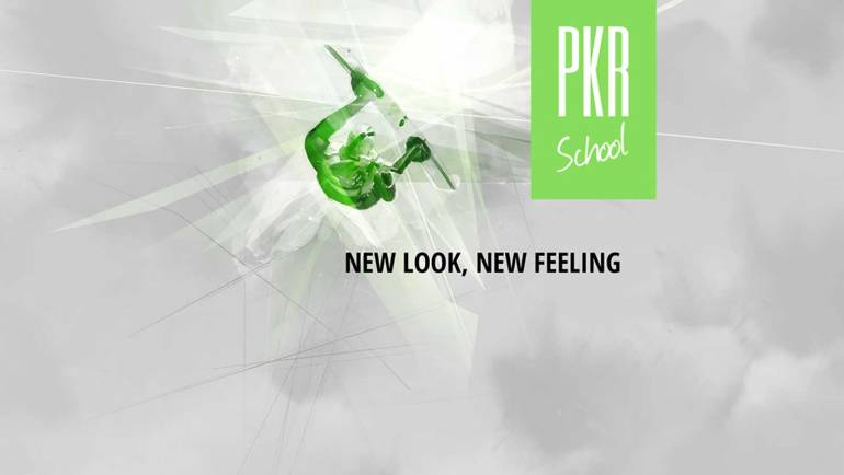 PKR School: New look, new feeling. Special thanks to Bouncy Particle