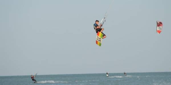 Pro Kitesurf Roma Kite Camp Berenice Simone Lori Big Jump 2140