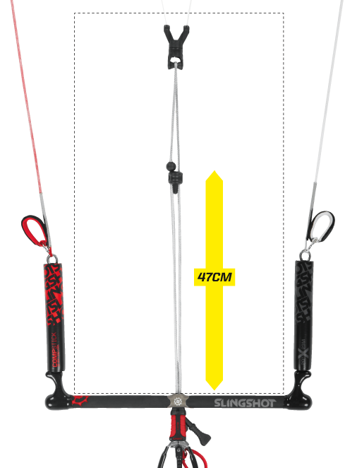 how to connect kitesurfing control bar