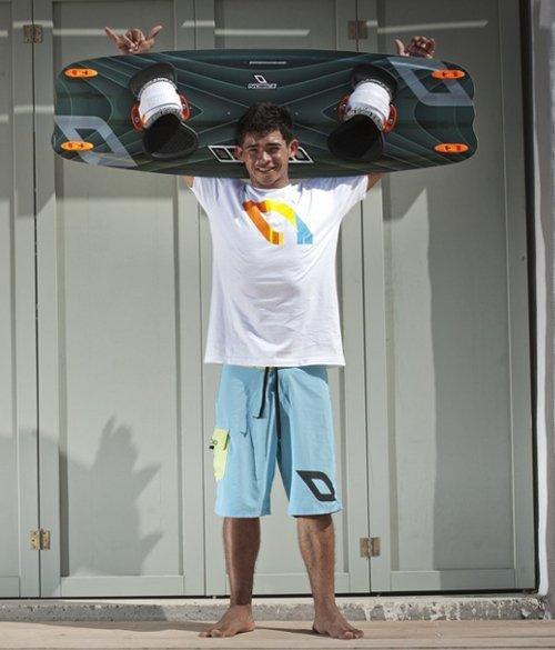 carlos madson Atleta Nobile Pro Kitesurf Roma
