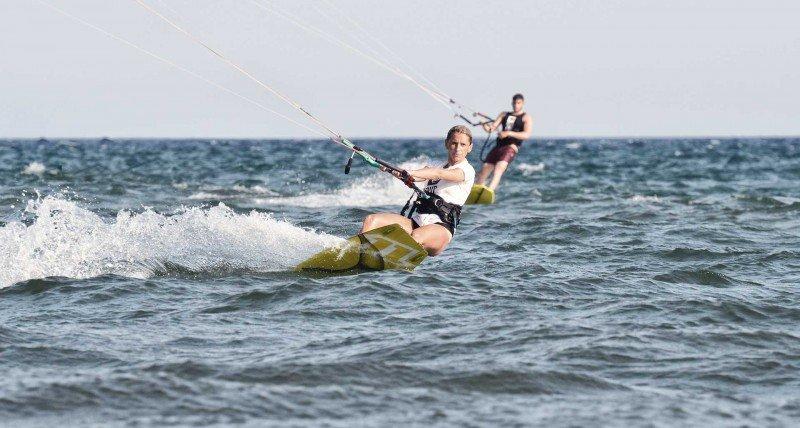 Scuola kitesurf Roma