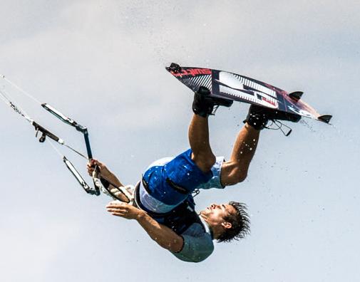 Marc Jacobs - Kiteboarding Freestyle Pro Kitesurf Roma