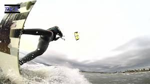 Kitesurfing Freestyle Manovre F16