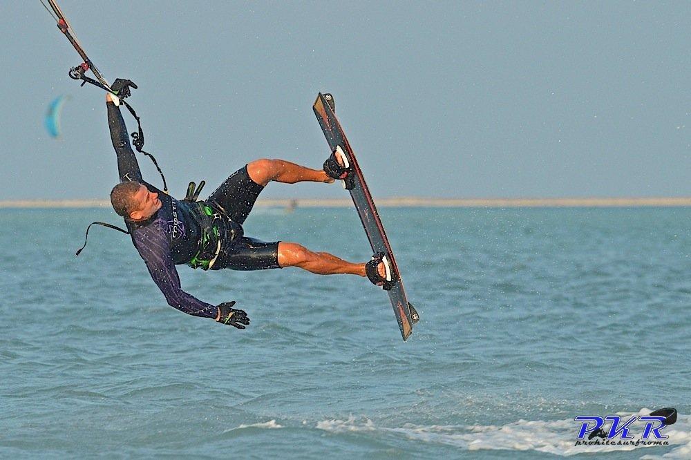 Kitesurf Cadute spettacolari