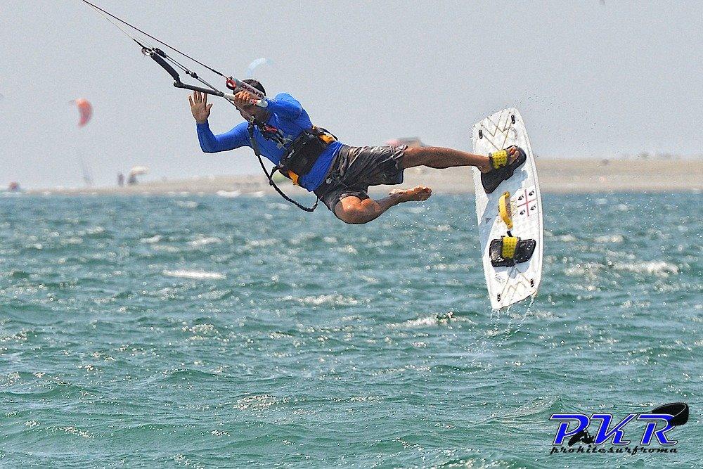 cadute kitesurf kiteboard crash