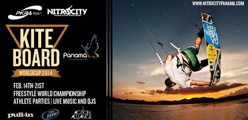 Kiteboard World Cup 2014 - Nitro City Panama
