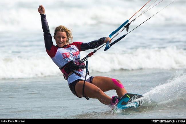 Paula Novotna pro kitesurf roma