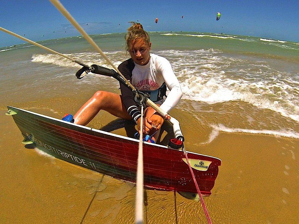 Annelous Lammerts pro kitesurf roma