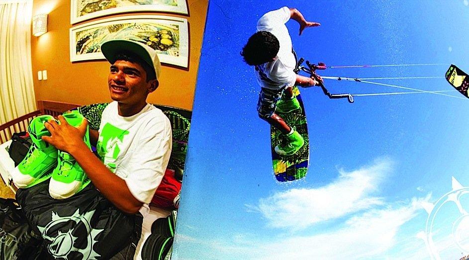 Carlos mario slingshot pro kitesurf roma