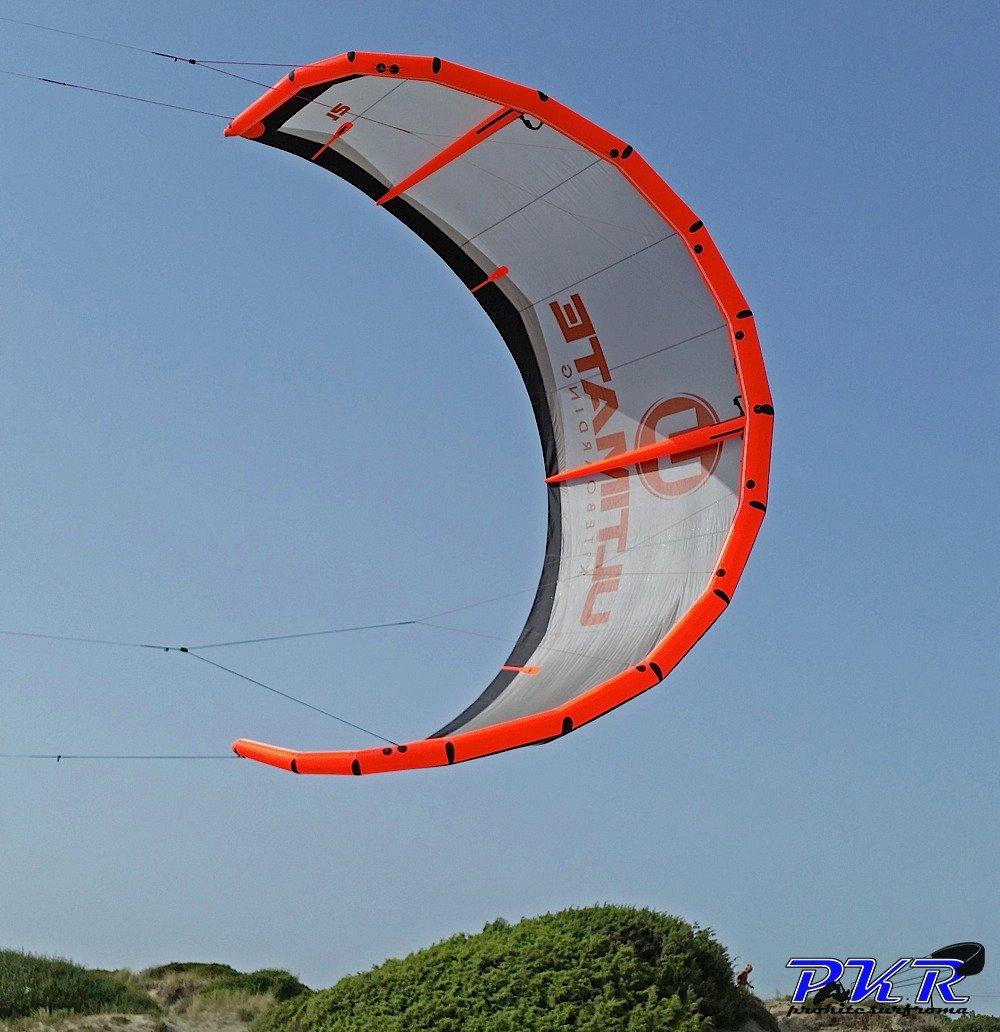 Ultimate Kiteboarding freestyle kite 1