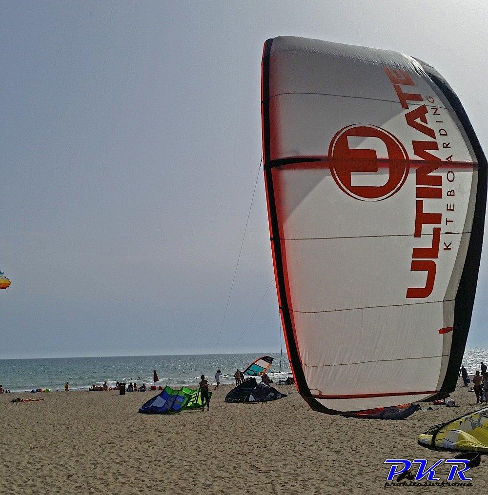 Ultimate Kiteboarding freestyle kite
