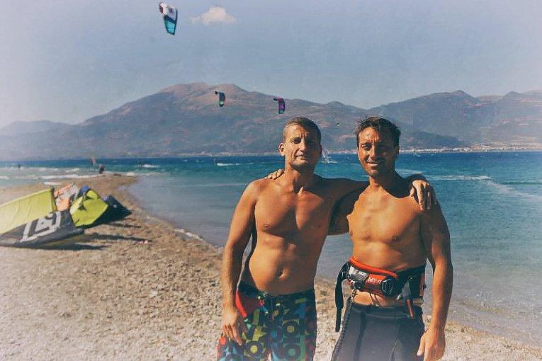 Kitesurf in Grecia
