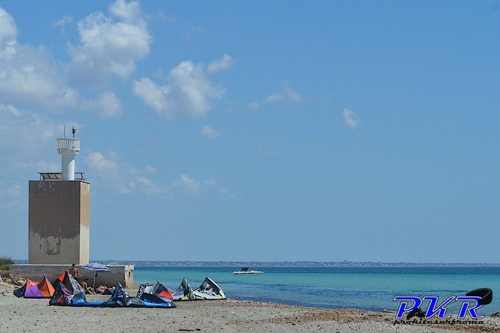 Capo Feto, Mazara del Vallo: Kitesurf Freestyle Spot