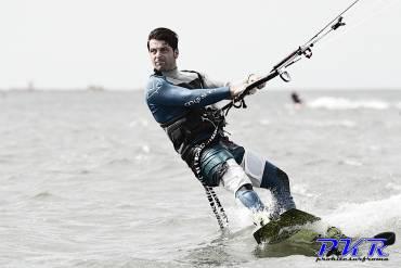 Stefano Bertini, il grande kiter del sud