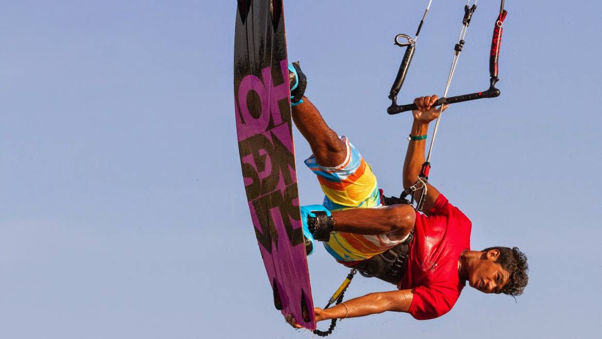 Team Elite Slingshot a Barra Grande Brasile kite Freestyle