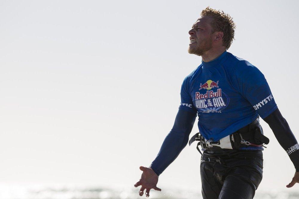 Ruben Lenten, brutto incidente al King of the Air 2015