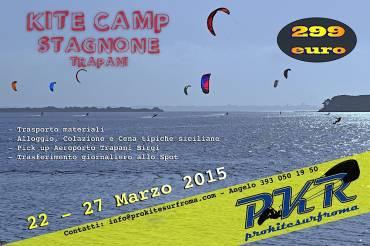 PKR Kitecamp – Stagnone 22 – 27 Marzo 2015
