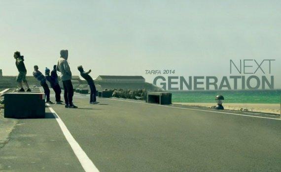 F-ONE NEXT GENERATION – Giovani Kiters in azione