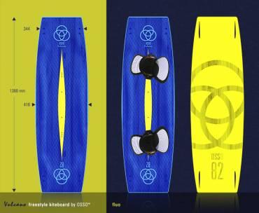 OSSO Kiteboard VULCANO – Twin Tips Freestyle