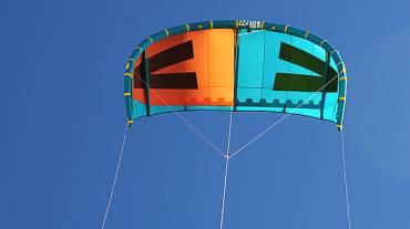 Quinta linea nel kitesurf, caratteristiche e funzionamento