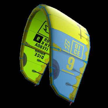 North kiteboarding presenta il DICE versione 2016