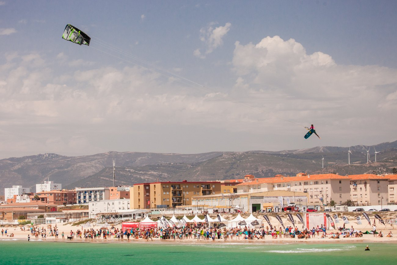 Kitesurf freestyle old school
