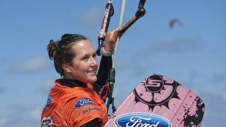Kitesurfing Video Blog CAROLINA Winkowska