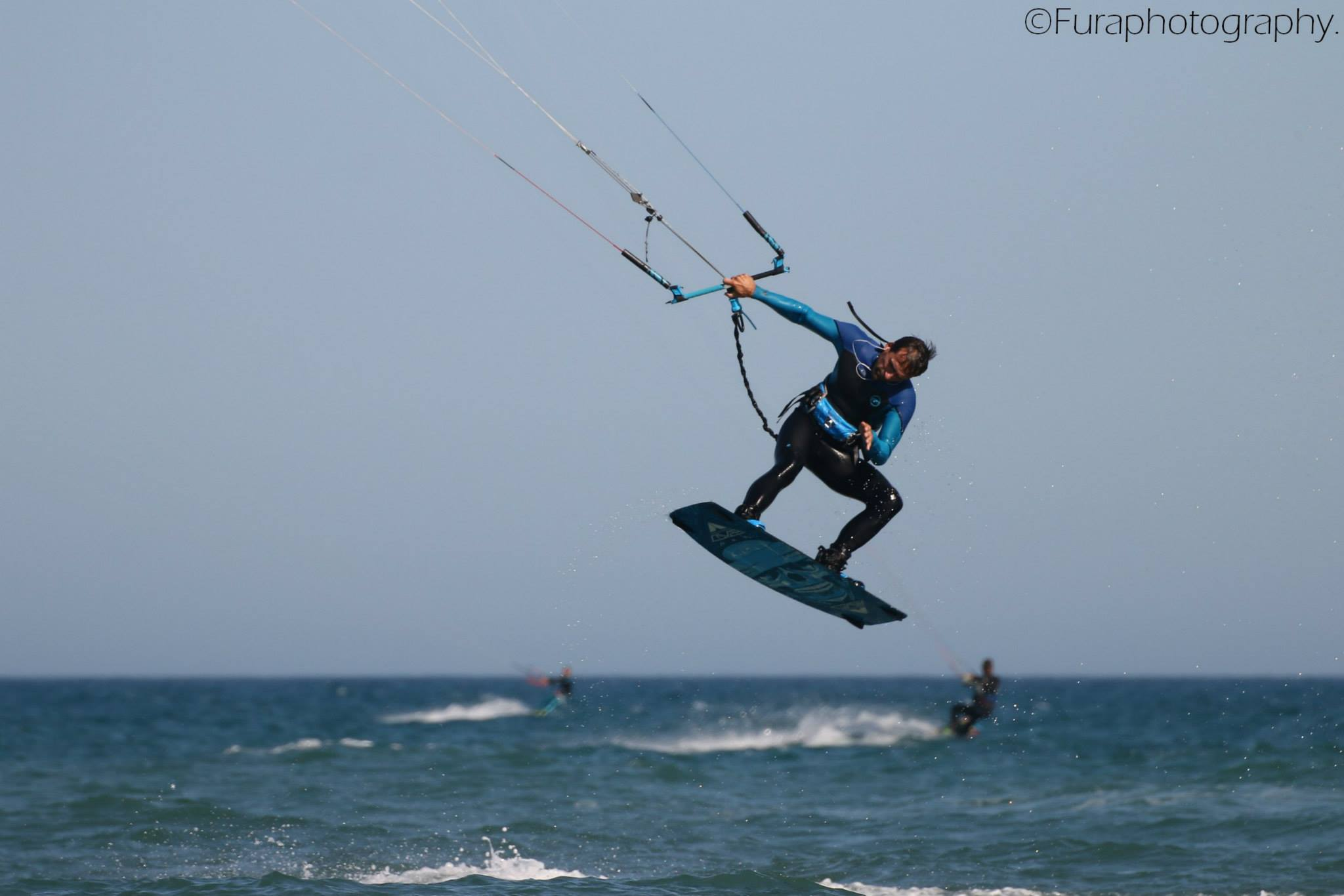Felipe Moure López pro kitesurf roma
