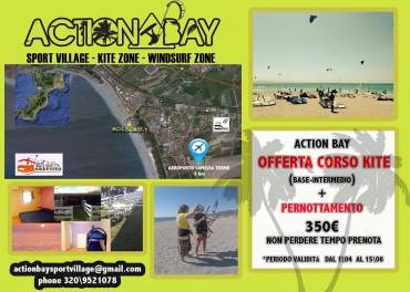 Action Bay Sport Village kite surf – Stagione 2016