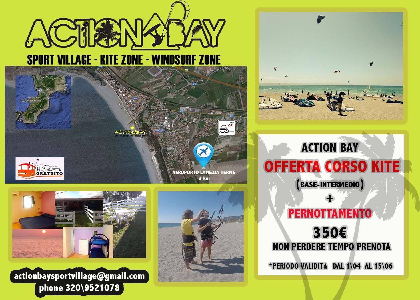 action bay fabiano kite surf