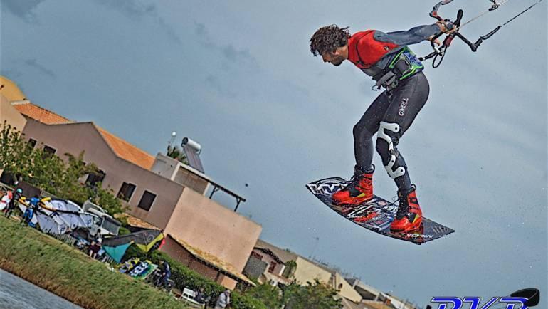 Andrea Ragazzoni, la potenza nel kitesurfing freestyle