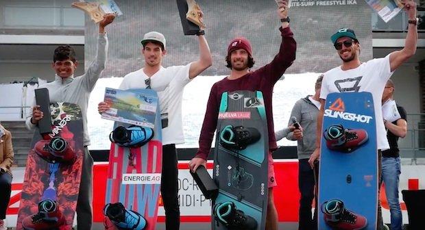 campionato mondiale kitesurf podio 1