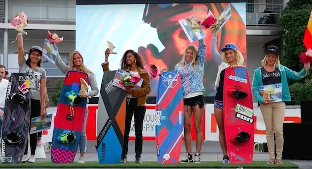 campionato mondiale kitesurf podio