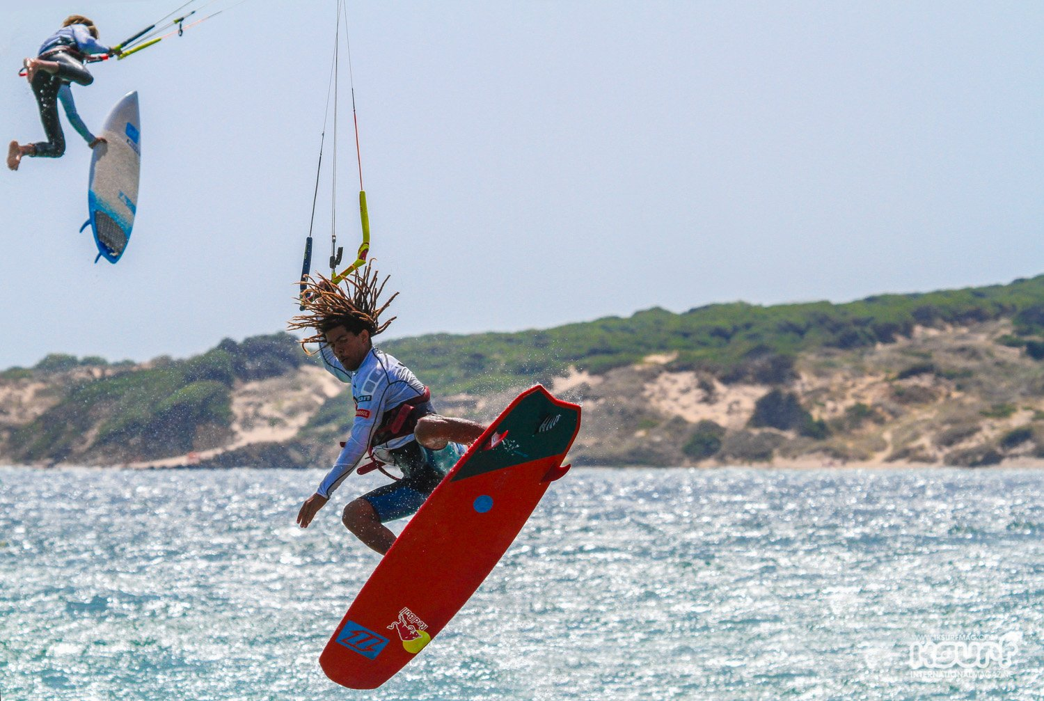 kitesurfing Strapless Freestyle