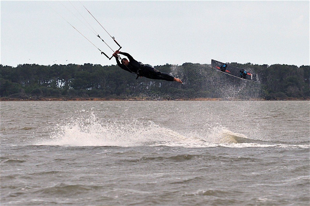 kitesurfing crash cadute22