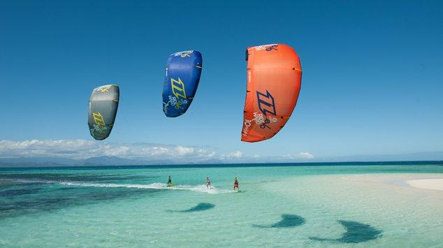 Kitesurfing alle Mauritius con il Team North